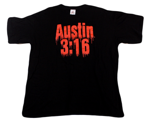 WWF AUSTIN 3:16 BLOOD FROM A STONE T-SHIRT XXL