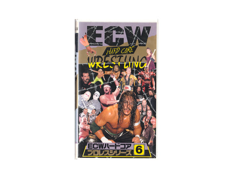 ECW HARDCORE #6 JAPANESE VHS TAPE