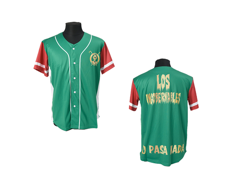 NJPW LIJ MEXICO COLORS JERSEY MEDIUM