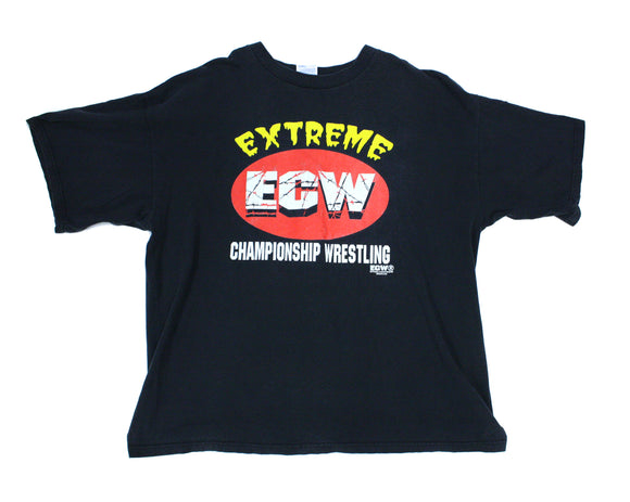 ECW WARNING T-SHIRT XXL