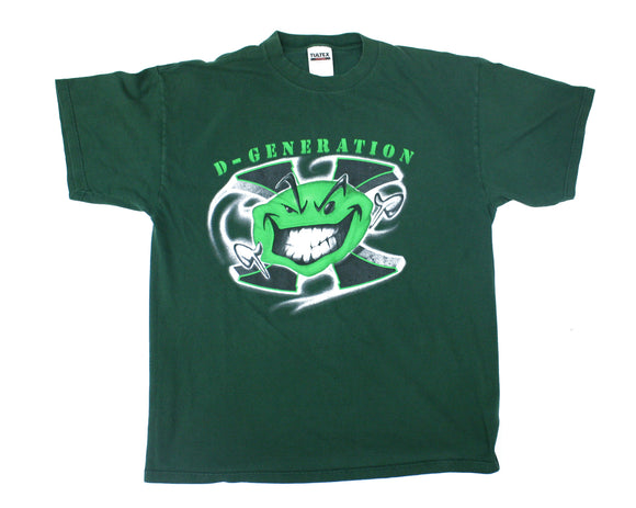 WWF DX GREEN SMILEY T-SHIRT XL