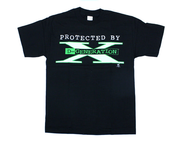 WWF DX 'PROTECTED BY DX' T-SHIRT LARGE