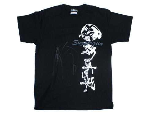 MINORU SUZUKI SUZUKIGUN T-SHIRT MEDIUM *SIGNED*