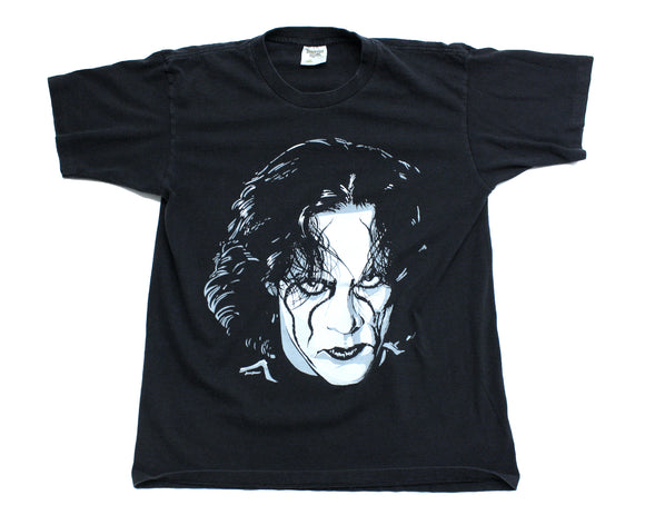 WCW STING CROW ILLUSTRATION T-SHIRT LG