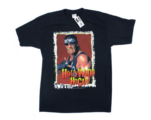 WCW HOLLYWOOD HOGAN NWO SHIRT LG