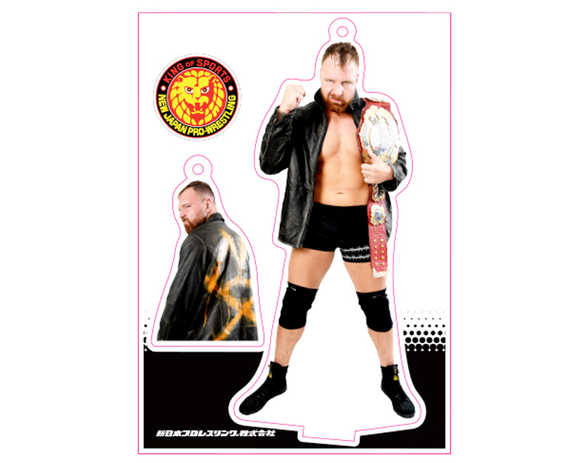 NJPW JON MOXLEY TWO KEYCHAIN SET