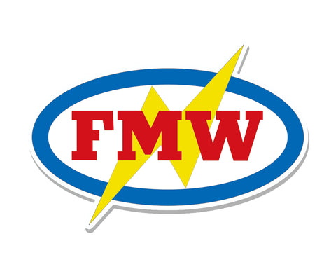 FMW DIE-CUT STICKERS