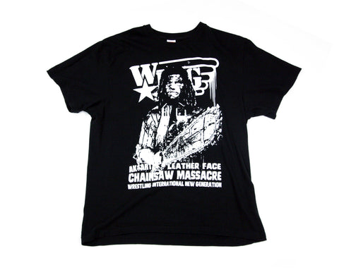 W*ING LEATHER FACE T-SHIRT XL