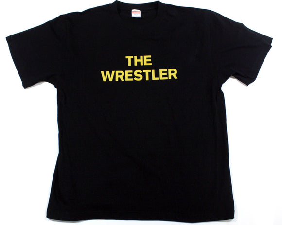 NJPW SHIBATA THE WRESTLER YELLOW TEXT T-SHIRT XL