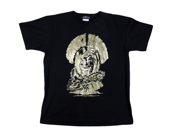 MINORU SUZUKI READY? GOLD FOIL T-SHIRT XL *SIGNED*