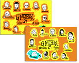 G1 CLIMAX STICKER SHEETS