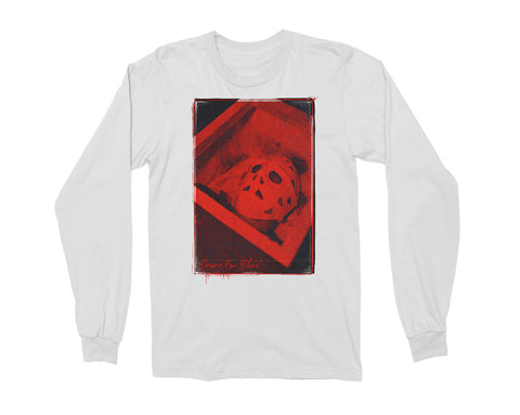 JASON DESIRE FOR BLOOD LONGSLEEVE [WHITE]⚰️