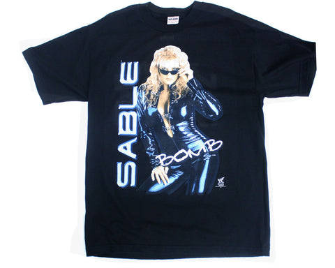 WWF Sable Bomb T-Shirt from Stashpages