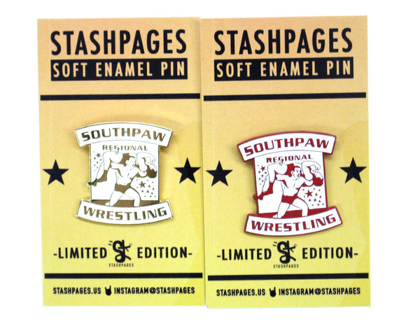 SOUTHPAW REGIONAL WRESTLING PINS 2-PACK