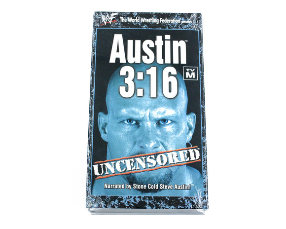 WWF AUSTIN 3:16 UNCENSORED VHS TAPE