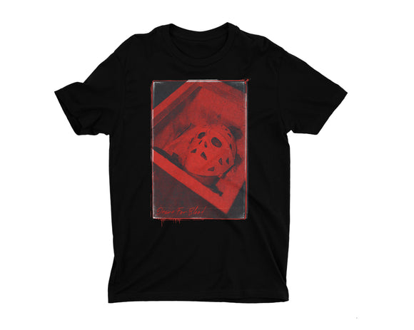 JASON THE TERRIBLE DESIRE FOR BLOOD T-SHIRT [BLACK]⚰️