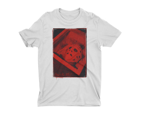 JASON THE TERRIBLE DESIRE FOR BLOOD T-SHIRT [WHITE]⚰️