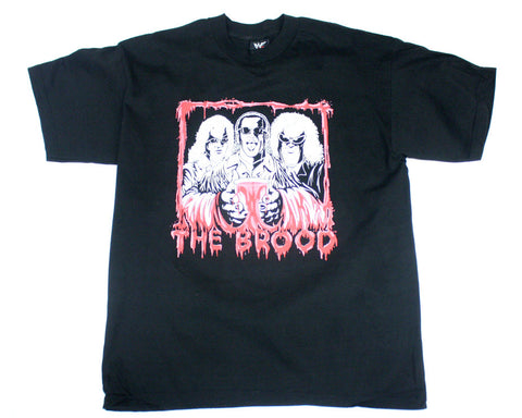 WWF THE BROOD 'BLOODBATH' VINTAGE T-SHIRT XL