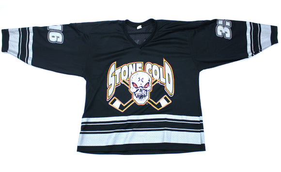 WWF STONE COLD STEVE AUSTIN 'HELL YEAH 3:16' VINTAGE HOCKEY JERSEY