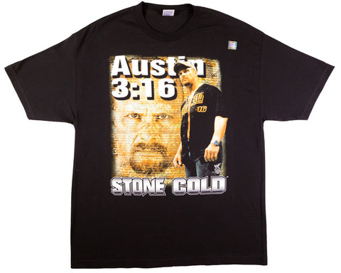 STONE COLD STEVE AUSTIN NO MERCY VINTAGE T-SHIRT XL