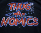 WWE JOHN CENA THUG-A-NOMICS T-SHIRT LG