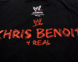 WWE CHRIS BENOIT 4 REAL T-SHIRT LG