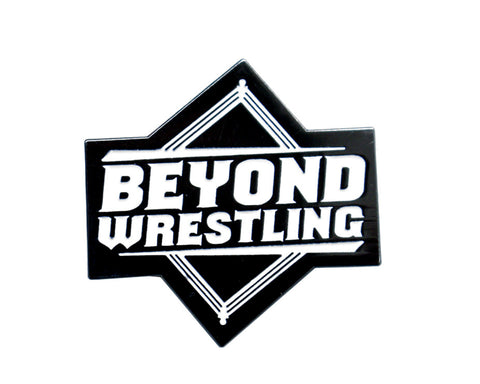 BEYOND WRESTLING OFFICIAL LOGO  PIN