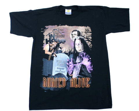 WWF BURIED ALIVE VINTAGE T-SHIRT
