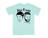 REAL FRIENDS 001 T-SHIRT - CHALKY MINT