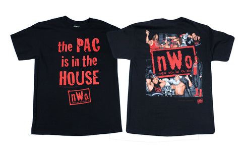 WCW/NWO WOLFPAC 'IN THE HOUSE' T-SHIRT LG