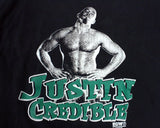 ECW JUSTIN CREDIBLE T-SHIRT LG