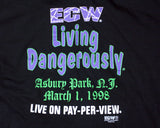 ECW LIVING DANGEROUSLY T-SHIRT XXL