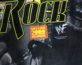 WWF THE ROCK ALL-OVER PRINT T-SHIRT XL