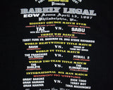 ECW BARELY LEGAL T-SHIRT XL