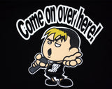 TAKA MICHINOKU COME ON OVER HERE T-SHIRT LG