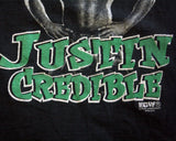 ECW JUSTIN CREDIBLE T-SHIRT XXL