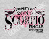 2 COLD SCORPIO FAN CLUB T-SHIRT