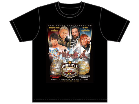 NJPW DOUBLE GOLD DASH T-SHIRT