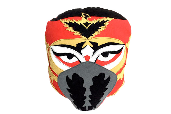 HAYABUSA RED MASK PILLOW