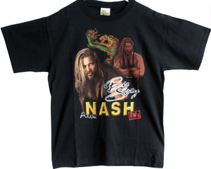 WCW KEVIN NASH DRAGON T-SHIRT LG
