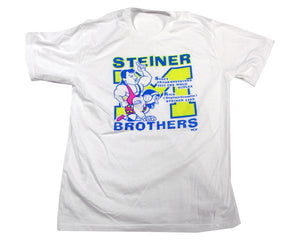 WCW STEINER BROTHERS T-SHIRT MED