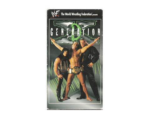 WWF D-Generation X VHS Tape