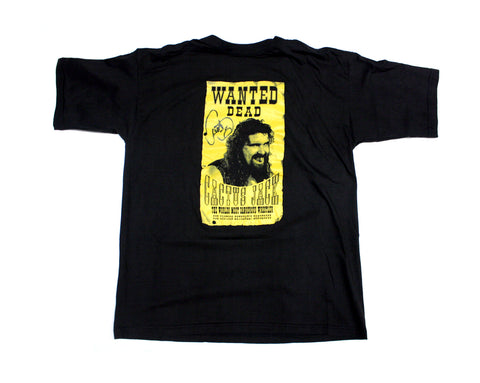 CACTUS JACK 'WANTED' SIGNED T-SHIRT  XL