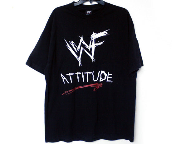 WWF ATTITUDE COME GET SOME T-SHIRT XL