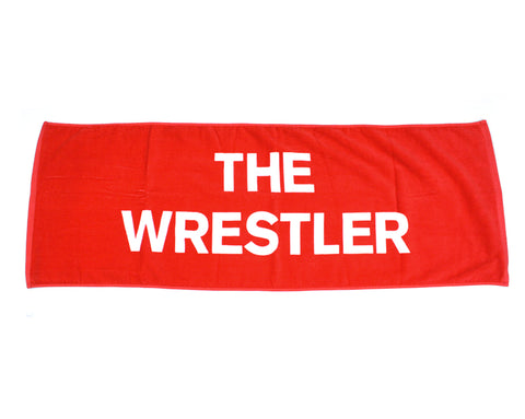 "NJPW SHIBATA ""THE WRESTLER"" RED TOWEL"