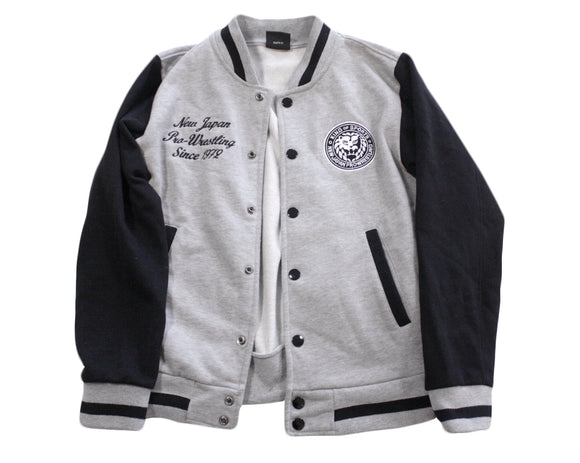 NJPW LETTERMAN JACKET MEDIUM