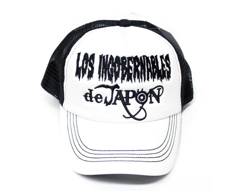 NJPW LOS INGOBERNABLES WHITE/BLACK HAT