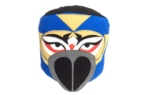 HAYABUSA BLUE MASK PILLOW