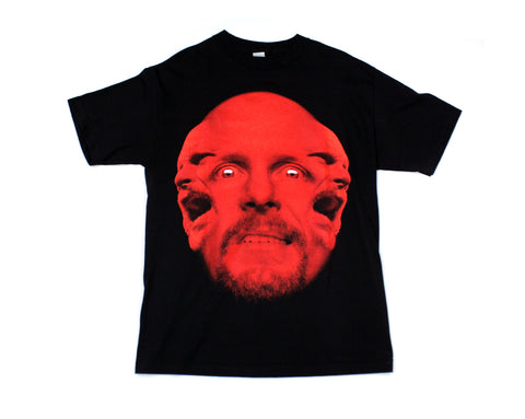 WWF STONE COLD 3-HEADS T-SHIRT MED