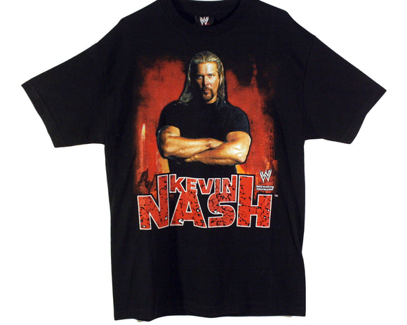WWE KEVIN NASH BIG DADDY COOL T-SHIRT LG